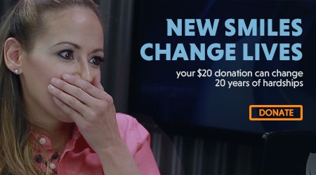 New Life Smile Donate Banner